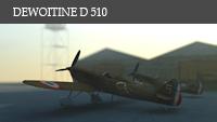 DEWOITINE D510 Rendu61p
